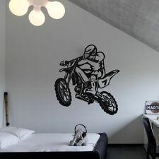 Wall Decal Sticker Vinyl Tribal Dirt Bike Moto Motorcycle Jump Gp M820