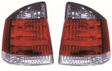 Vauxhall Vectra C 2002-2005 Smoked Rear Tail Light Lamp Pair Left & Right