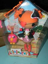 Lalaloopsy Peggy Seven Seas Full Size Doll Pirate Costume NEW
