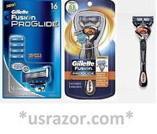 17 Proglide FLEX BALL Gillette FUSION Razor Blades Cartridges Refills Shaver USA