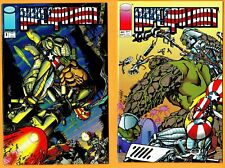 3 Super Patriot-Image Comic Book Lot- #s 1, 2 & 3(1993)