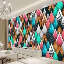 Pink Green Simple Full Wall Mural Photo Wallpaper Printing 3D Decor Kid Home
