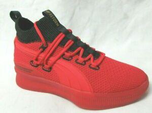 Puma Clyde Court Reform Meek Red  Men Walking Shoes 7