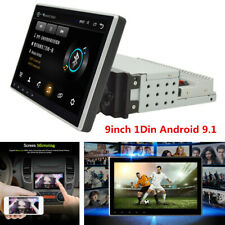 9inch 1Din Android 9.1 Car Stereo Radio GPS Wifi 3G 4G BT DAB Mirror Link OBD