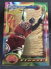 1993-94 Topps Finest Michael Jordan Basketball Card #1 Chicago Bulls HOF SHARP