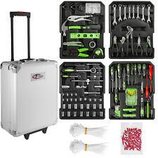 699 tlg. Alu Werkzeugkoffer mit Werkzeug Werkzeugkasten Werkzeugset Box Trolley