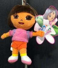 Dora The Explorer Plush Key Clip - New