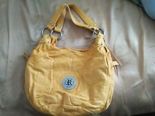 Woman's Purse Yellow(Used) Reflections Brand, Med-Large size good condition
