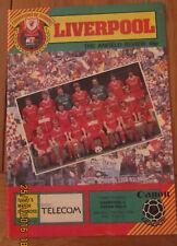 Liverpool FC v Aston Villa football programme 11.5.1985