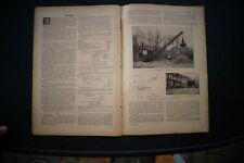 1926 k11 / Raupenbagger Menck Hambrock Schleuse Brandenburg Havel