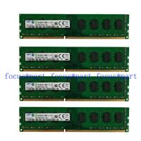 Samsung 16GB 4x4GB DDR3 1600 MHz PC3-12800 2Rx8 Desktop Memory ram PC for intel