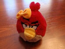 "6"" Plush Girl Red Angry Bird"