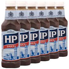 (10,59 EUR/kg) 6x HP Original Brown Sauce 425g importiert aus UK