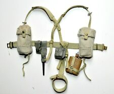 1/6 SCALE DRAGON BRITISH WWII - BELT, HARNESS, CANTEN WATER AND MORE