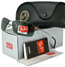 RAY-BAN TOP BAR RB3183 004/71 63MM GUNMETAL /  GREEN CLASSIC