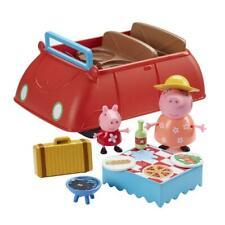 Peppa Pig Peppa's coche con 2 figuras Rojo Big & Sonidos