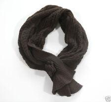 Sciarpe, foulard e scialli da donna tinta unita marrone, in italia