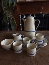Grays 'Sunbuff' Coffee Set (part)