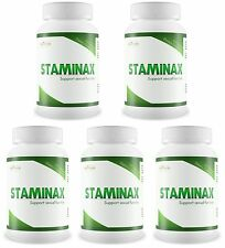 5 STAMINAX Eliminate Premature Ejaculation Pills Last Longer In Bed Prolong Sex