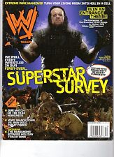 WWE wrestling magazine December 2009  / SUPERSTAR SURVEY