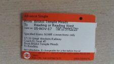November Train Tickets