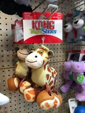 Kong Dog Toy TenniShoes small Giraffe with Tennis Ball Feet Dogs Puppies Gift