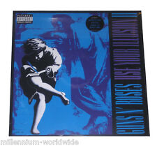"GUNS N' ROSES - USE YOUR ILLUSION II - DOUBLE 12"" VINYL LP - 2 - SEALED & MINT"