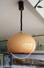 Mid century modern PENDANT LIGHT by HARVEY GUZZINI Pulley Lamp 1970s