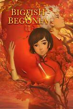 [New] Big Fish & Begonia (Dvd, 2016) Xuan liang Animation
