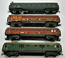 Marklin HO Scale DSG Passenger Cars No.'s 346/1, 346/2, 346/3 & 346/4, Vintage