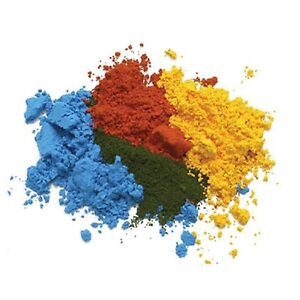 25g | CONCENTRATED RED, YELLOW, GREEN & ORANGE FOOD CAKE COLOUR COLOURING POWDER