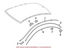 For Mercedes Genuine Roof Drip Molding Seal Left 1176730321