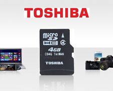 Toshiba Class 4 4GB TF Card Memory Card C4 micro SD SDHC C04G Capacity 4G Card
