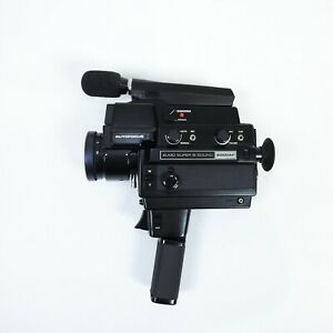 Elmo Super 8 Sound 6000AF cine film video camera + original case Made in Japan