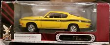 1969 Plymouth Barracuda 1:18 Road Signature New In Box Yellow