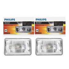 2 PCS Philips Headlight Bulb For 1995-1997 Chevrolet Blazer Hi/Lo Beam