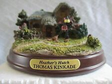 THOMAS KINKADE Heathers Hutch from the Memories of Home Cottage Collection
