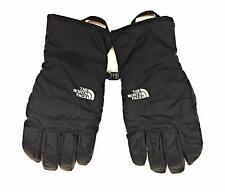 The North Face Womens TNF Black Waterproof Nylon Winter Gloves Medium M 8284-4