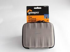 Lowepro Santiago 30 Hard-Shell Compact Camera Case in Grey. Free Postage!