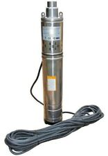 "IBO 3.5"" Borehole Deep Well Submersible Water Pump LONG LIFE + CABLE 2y warranty"