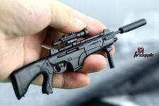 "1/6 Scale 4D Rifle ARX-16 Gun Model Assembled Toy For 12"" Soldier Figure"