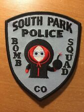 PATCH POLICE SOUTH PARK BOMB SQUAD COLORADO STATE