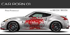 Car Porn 01 Auto Aufkleber Set Tuning Muster Design JDM Style CarPorn