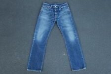 New Sample Levis 501 Redline Selvedge Denim Jeans Size 32 x 32 LVC Distressed