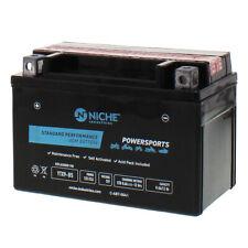 NICHE AGM Battery for Arctic Cat Honda Kawasaki Polaris Suzuki YTX9-BS