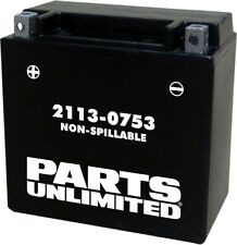 AGM Maintenance Free Battery 200CCA 12V 12Ah Factory Activated Replaces YTX14-BS
