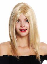 Perruque pour Femme Femme Long Lisse Raie Méché Blond Platine GFW3098