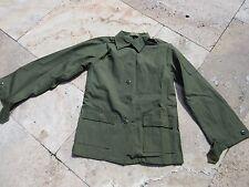 US ARMY FEMME utilité chemise veste de combat terrain OG-107 vietnam NAM DSA