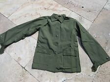 US Army Women Utility Shirt Feldjacke Field Jacket OG-107 Vietnam Nam DSA Gr 10
