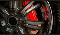 4 Pegatinas sticker llantas ruedas Amg Mercedes Benz 5 cm